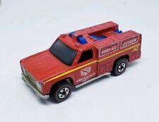 Hot Wheels Vintage 1975 Redline Emergency Squad Truck Hong Kong LOOSE