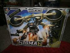 GI JOE SIGMA 6  DRAGONHAWK HEAVY ARMOR DROPSHIP