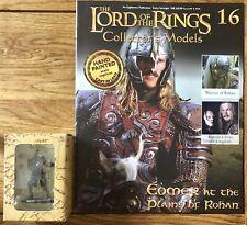 Señor De Los Anillos Edición 16 Eomer en las llanuras de Rohan figura & Revista