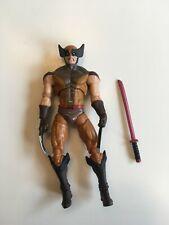 "Marvel Universe X-Men Origins Wolverine Brown Tan Comic Series 3.75"" 1:18 Loose"