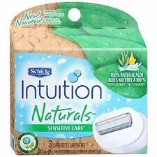 Schick Intuition Naturals Cartridges Sensitive Care 3 Each