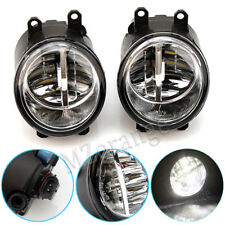 Pair 80W LED Left Right Front Fog Light Bumper Fit For Toyota Camry Yaris Lexus