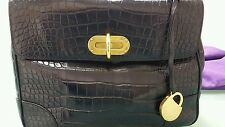 Ralph Lauren Purple Label alligator purse 22k retail