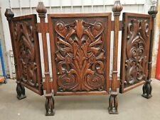 More details for decorative carved wooden church 3 panel stand *collection* (hospiscare)