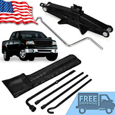 For 2004-2014 Ford F150 Spare Tire Tool Kit Lug Wrench Set + 2 Ton Scissor Jack