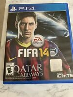 FIFA 14 (Sony PlayStation 4, 2013) ps4 ship out fast played once