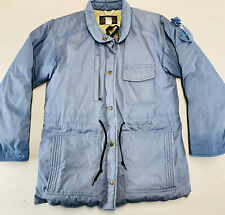 Vintage 70s Eddie Bauer Goose Down Jacket Made in USA Blue Outdoors Large CLEAN