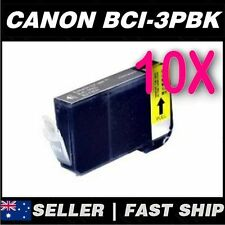 10x Photo Black for Canon BCI-3PBK BJC3000 BJC6000 BJC6200 BJC6500 i550 i560 i85