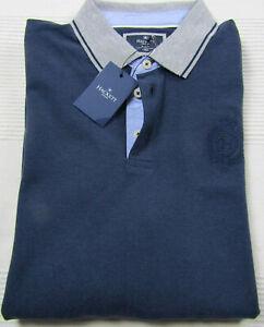 Hackett London Poloshirt in Blau / Size L / Neu mit Etikett
