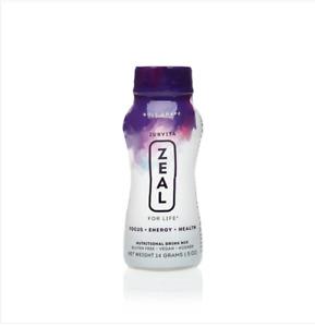 Zurvita Zeal for Life 24 Single-Serving Bottles - Choose Your Flavor