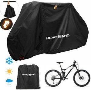 XL Durable Waterproof Bicycle Cover Mountain Bike Rain/Snow/Dust UV Protector AU