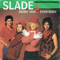 "Slade – Merry Xmas Everybody Vinyl 7"" P/S Single 1985 Reissue POSP 780"