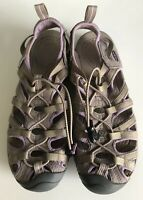 Keen Womens Sandals WHISPER Water Shoes Gray Purple Waterproof Hiking Outdoor 9