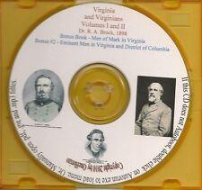 Virginia and Virginians - Virginia Genealogy