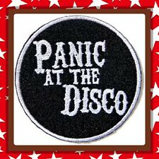 🇨🇦 Panic At The Disco Black   Patch  Sew On/stick On Clothing/new 🇨🇦 #2