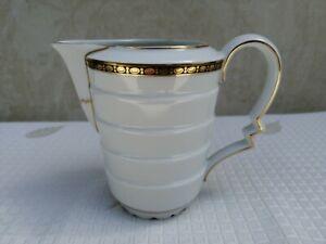 Rosenthal Bavaria Madeleine Milchkännchen ca. 12,2 cm Goldrand 361 Art Deco