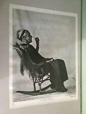 vintage poster grass roots america granny smoking marijuana joint rocking chair