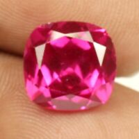 A 10.70 Ct. Natural Pink Sapphire Cushion shape loose certified Gemstone F 1365