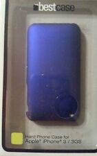 APPLE iPHONE 3/3GS HARD CASE BESTCASE IN Metallic BLUE