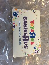 Toys R Us Merchandise Credit / Gift Card for $126.84 Also Good for Babies R Us