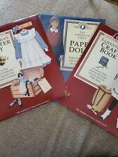 Samantha's Theater Kit American Girls Pastimes Molly Paper Dolls Samantha Craft