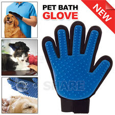 Pet Grooming Bath Magic Glove Cat Dog Hair Massage Mitt Fur Cleaning Comb Brush