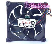 Cooler Master FA07015E12BMC cooling fan 12V 0.70A 70*70*15MM 4wire PWM #MH97- QL