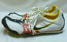 Mens Nike Bowerman Track Field Cleats Spike Shoes Black Yellow Red White 13