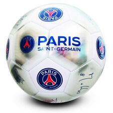 Official Paris Saint Germain Silver Signature Football - Size 5