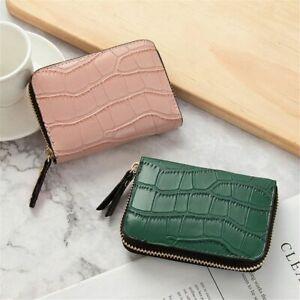 Credit ID Card Zipper Card Case Bus Card Card Holder Card Bag Wallet Coin Purse