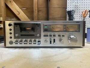 AIWA AD-6550 Stereo Cassette Deck! GREAT CONDITION Vintage HIFI 70s