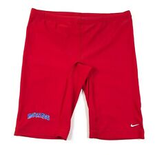 Nike Mutants Mens 36 Red Compression Shorts Swim Jammers Nylon Spandex NWOT