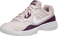 Nike Court Lite Tennis Shoes Trainers Pink Maroon Women's Size 9 [845048-651]