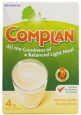 COMPLAN VELVETY VANILLA FLAVOUR DRINK - 4 X 55G SACHETS