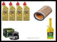 Kit Tagliando Triumph scrambler 865 castrol 10w40 filtro aria e olio + omaggio