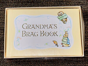 Beatrix Potter Grandmother's Brag Book Album Peter Rabbit C.R. Gibson 1976