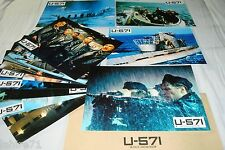 U-571 !  jeu 12 photos cinema lobby cards fantastique sous-marin