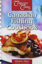 Canadian Fishing Cookbook-ExLibrary