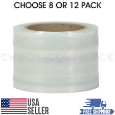 80 Gauge Self Adhering Amp Hand Stretch Wrap Roll Size 3x1000 Ft Choose Quantity