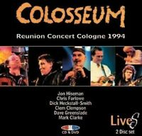 COLOSSEUM - REUNION CONCERT COLOGNE 1994  CD+DVD NEU