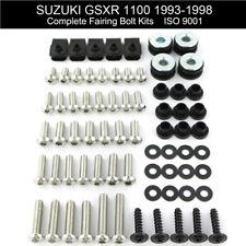 Motorcycle Fairing Bolts Screws Fasteners Kit For Suzuki GSXR 1100 1993-1998