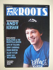 FOLK ROOTS 60 June 1988 Andy Kershaw, Mahlathini & the Mahotella Queens