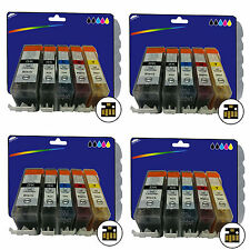 20 Inks for Canon iP4950 iX6250 MG5200 MG6150 MG6250 MX885 non-OEM 525/6