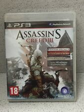 ASSASSIN'S CREED III EDITION SPECIALE ET EXCLU JEUX PS3 AVEC NOTICE PLAYSTATION