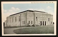 New High School Gymnasium Poplar Bluff Mo Curteich-Chicago