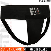 Boxing Groin Guard With Plastic Cup Martial Arts Foul Protector - Senior, Junior