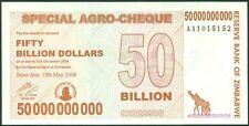 TWN - ZIMBABWE 63 - 50000000000 Doll. 15.5.2008 UNC AA