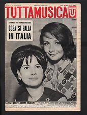 TUTTAMUSICA 24/1964 GILBERT BECAUD LOS TRES CABALLEROS ACHILLE MILLO NOSCHESE