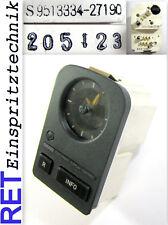 Uhr Analoganzeige mit Display S9513334-27190 Saab 9000 original