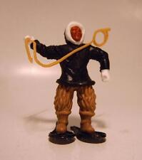 Timpo Toys Eskimo schwarzes Hemd Hand unten mit Harpune